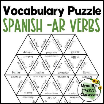 Descubre 1 Lección 2 Vocabulary puzzle: AR verbs