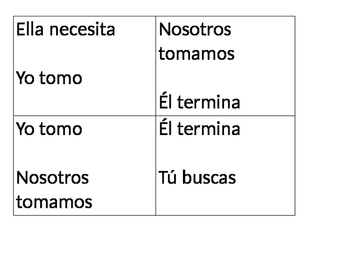 Ser/estar/ar verbs/gustar verb game - can be used with Descubre 1 Lección 2