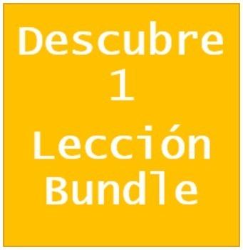 Descubre 1 Lección 3 Bundle