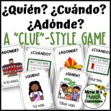 """Descubre 1 Lección 4: Clue-style game with verb """"ir"""""""
