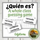 Descubre 1 Lección 5: ¿Quién es? A whole class speaking game with the verb estar