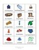 Descubre 1 Lección 6: La Ropa/Clothing Bingo