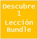 Descubre 1 Lección 8 Bundle