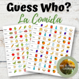 Descubre 1 Lección 8: Guess Who?  La comida  Spanish food speaking game