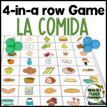 Descubre 1 Lección 8: La comida 4-in-a-row game