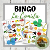 Descubre 1 Lección 8: La comida Bingo Spanish food