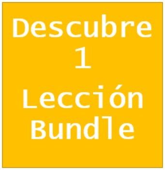 Descubre 1 Lección 9 Bundle