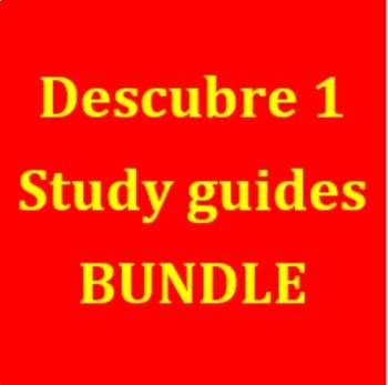 Descubre 1 Study guides Bundle