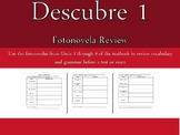 Descubre 1 Units 1-9 Fotonovela Review