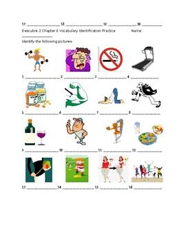 Descubre 2 Chapter 6 Vocabulary Identification Practice/Quiz