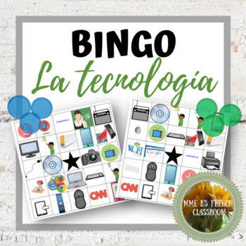 Descubre 2 Lección 2: La tecnología Bingo