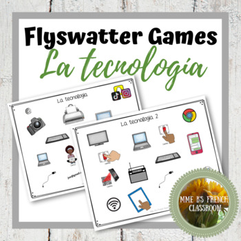 La tecnologia teaching resources teachers pay teachers descubre 2 leccin 2 la tecnologa flyswatter game fandeluxe