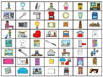 Descubre 2 Lección 3: 4-in-a-row game La casa/House
