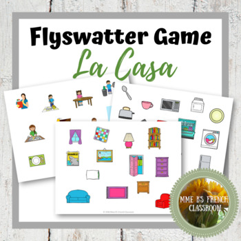Descubre 2 Lección 3: La Casa flyswatter game
