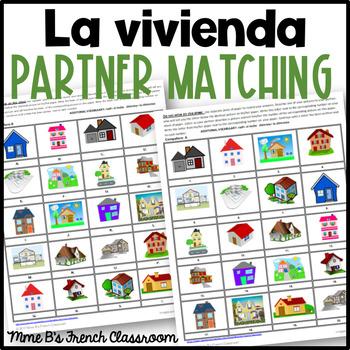 Descubre 2 Lección 3 La Vivienda  Partner matching game