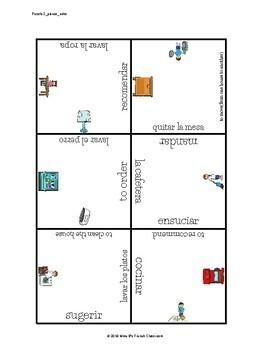Descubre 2 Lección 3 Vocabulary puzzle: La vivienda/la casa