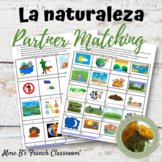 Descubre 2 Lección 4: La Naturaleza  Partner matching activities