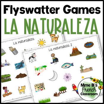 Descubre 2 Lección 4: La naturaleza flyswatter game