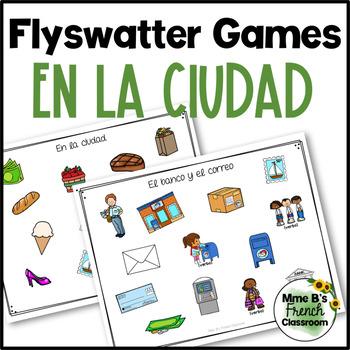 Descubre 2 Lección 5: En la ciudad flyswatter game