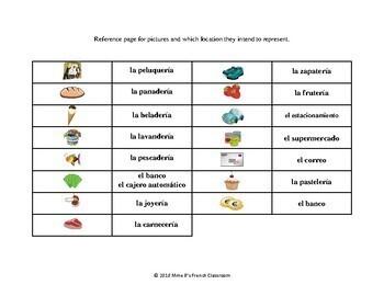 Descubre 2 Lección 5: Squares Game Connect the pictures: vocabulary