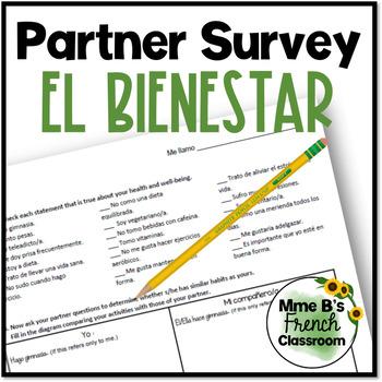 Descubre 2 Lección 6: El bienestar partner survey