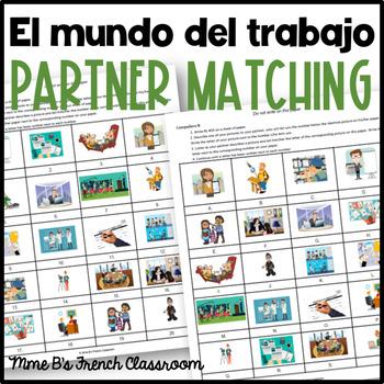 Descubre 2 Lección 7: El mundo del trabajo  Partner matching activity