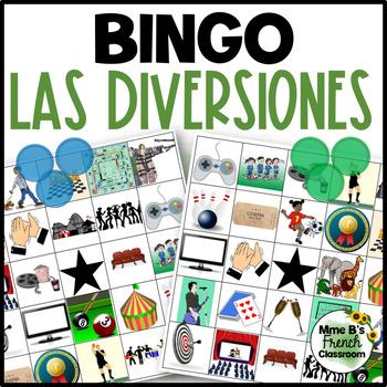 Descubre 3 Lección 2: Las diversiones Bingo