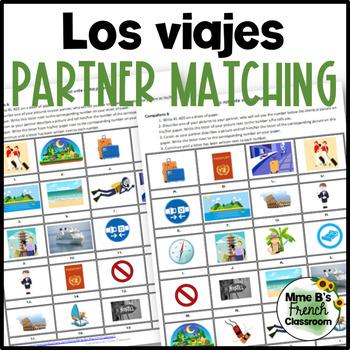 Descubre 3 Lección 5: Los Viajes  Partner matching activity