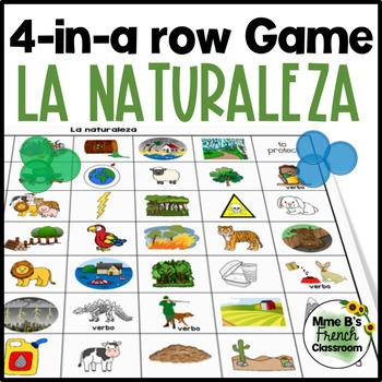 Descubre 3 Lección 6 4-In-A-Row game: La naturaleza