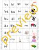 Descubre el español C  - Unidad 5, Semana 2 - phonics/fónetica - puzzle cards