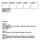 Descubre español, Unidad 5, Nivel C, Tarjetas de vocabulario