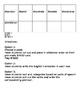 Descubre español, Unidad 5, Nivel E, Tarjetas de vocabulario