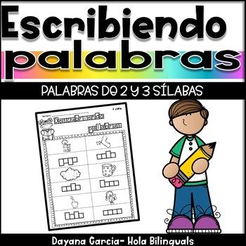 Descubriendo palabras- silabas