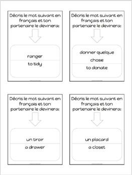 Advanced French conversation questions - Désencombrer sa vie et sa maison