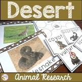 Desert Animals Activities and Report
