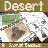 Desert Animals Activities - Research