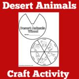 Desert Animals Activity | Desert Habitat Activity