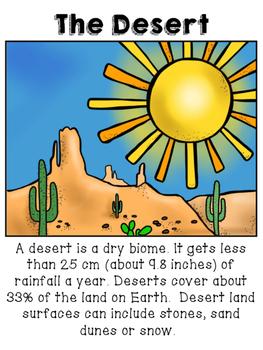 Desert Biome/Habitat Packet