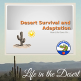 Desert Adaptations PowerPoint