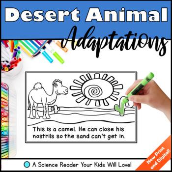 Desert Animal Adaptations - A Science Reader