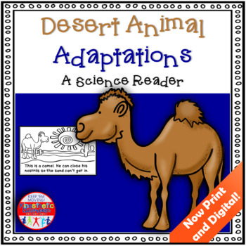 Desert Animal Adaptations - A Science Reader