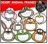 Desert Animal Frames Clip Art Bundle {Educlips Clipart}