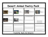 Desert Animal Poetry Pack