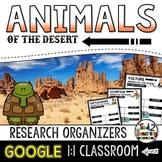 Desert Animal Report: Research Project Organizers GOOGLE CLASSROOM