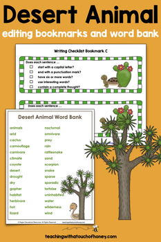 Desert Animal Research - Report Writing Templates