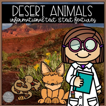 Desert Animal Research and Text Features Study