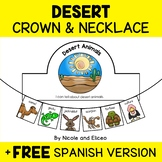 Desert Animal Activity Crown and Necklace