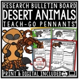 Desert Animals Research Project & Rubric • Teach- Go Pennants™