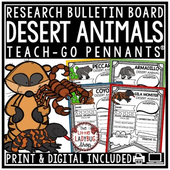 Animals of Desert Research Project & Desert Animals Research