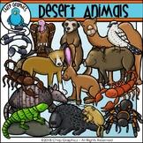 Desert Animals Clip Art Set - Chirp Graphics